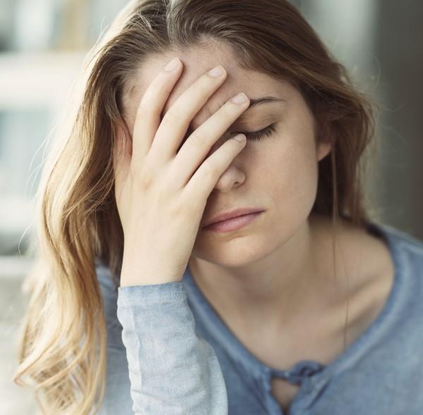 Femme stress et insomnie